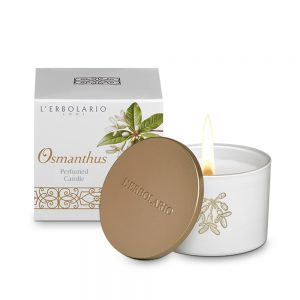 Osmanthus Scented Candle with Snuffer Top